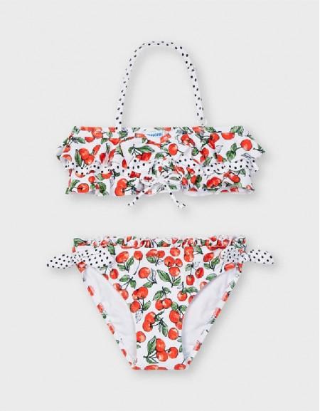 Cherry 2 Piece Print Bikini