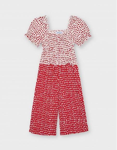 Poppy Conbined Polka Dot Playsuit