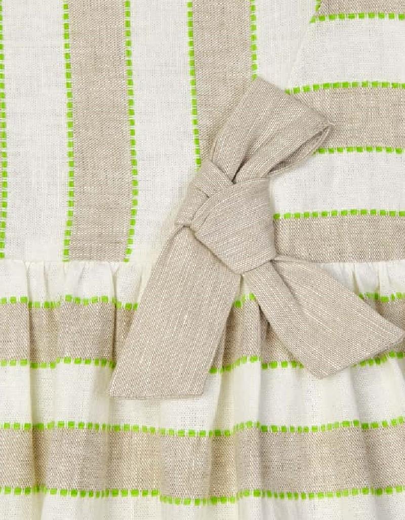 Linen Stripes Linen Dress