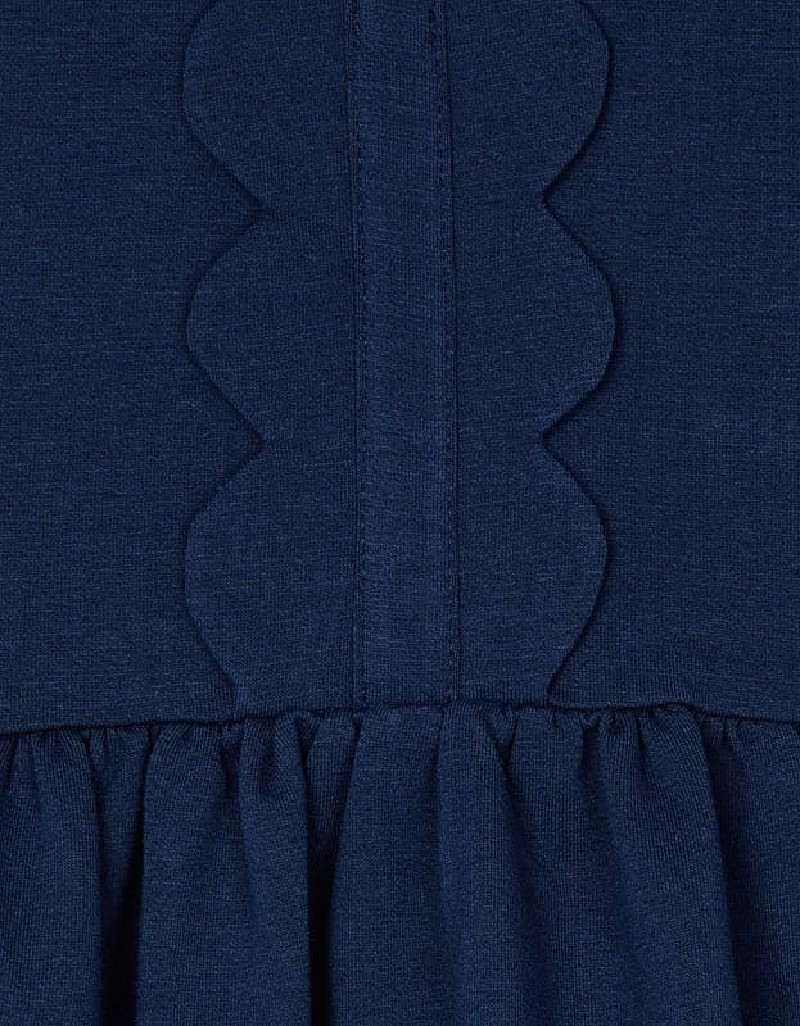 Ink Wave Front Dress