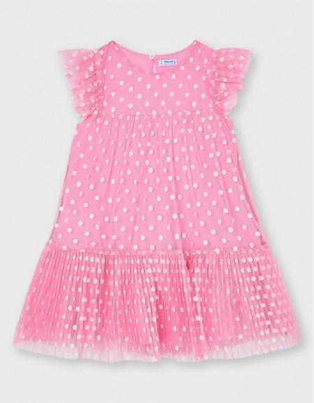 Camellia Tulle Polka Dots Dress