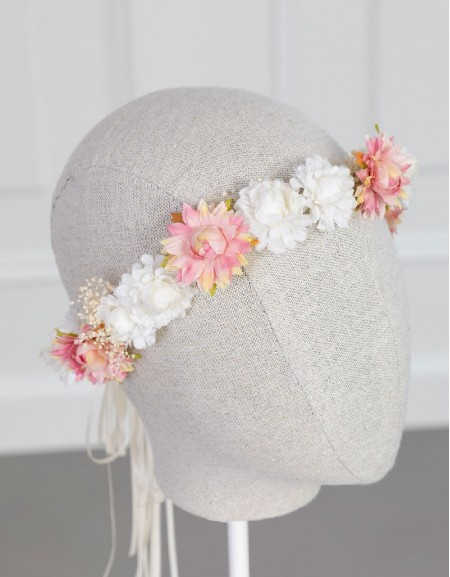Makeup Flower Crown