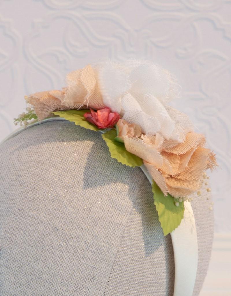Makeup Flowers Headband
