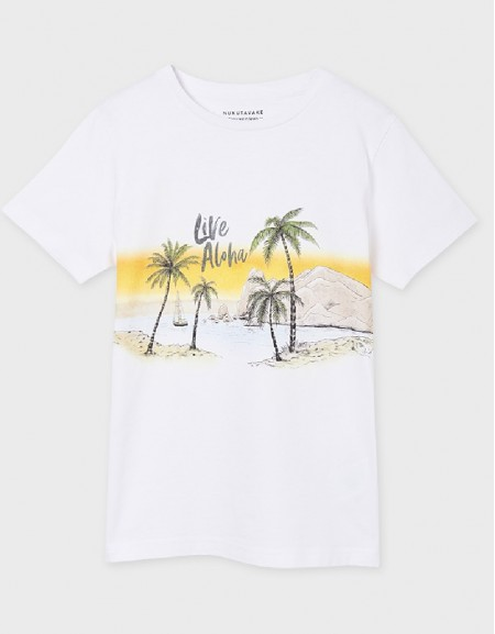 White Short Sleeve Tshirt