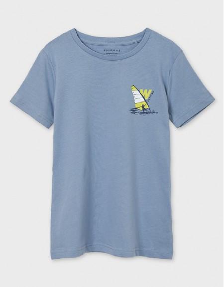 Light Blue Ecofriends Surfing T-Shirt