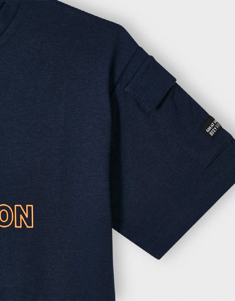 Ocean S/S Tshirt With Pocket