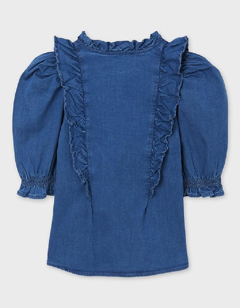 Denim Denim Loose Shirt
