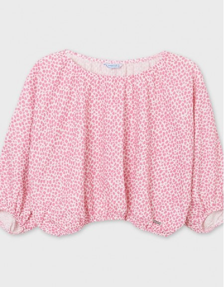 Camellia Polka Dotted Blouse