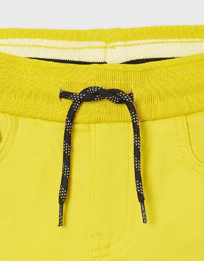 Lemon Soft Denim Shorts