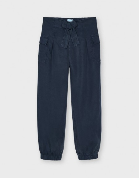 Dark Ecofriends Flowing Trousers With Pockets