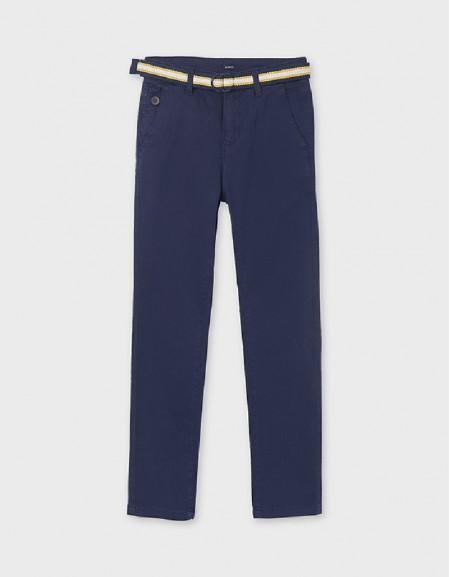 Ocean Piqué Trousers With Belt