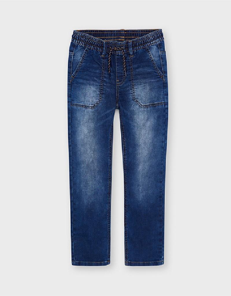 Medium Soft Denim Jogger Pants