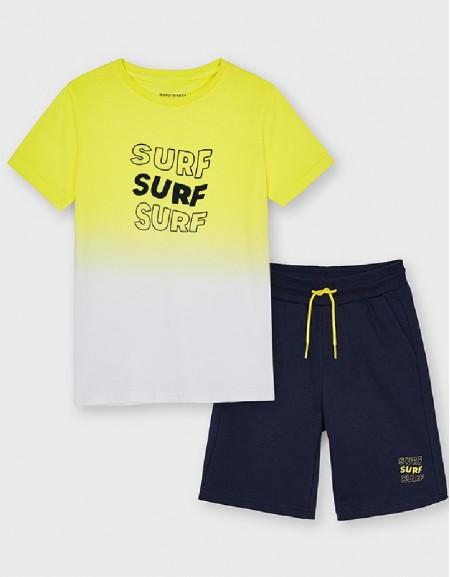 Lemon Dip Dye T-Shirt
