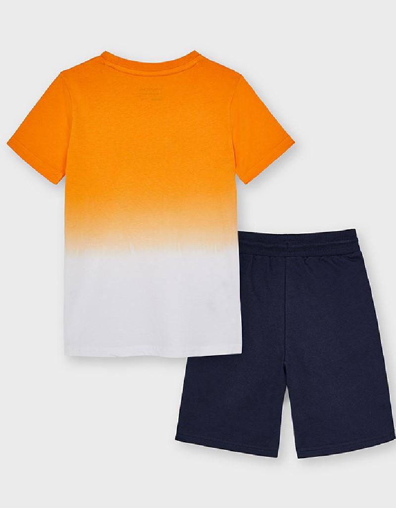 Peach Dip Dye T-Shirt