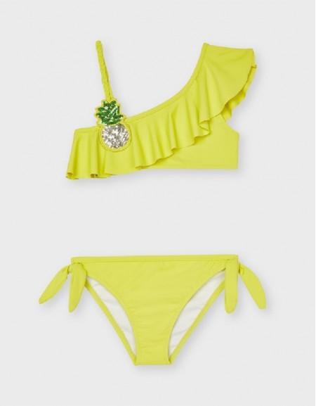Lemon Asymmetrical Bikini