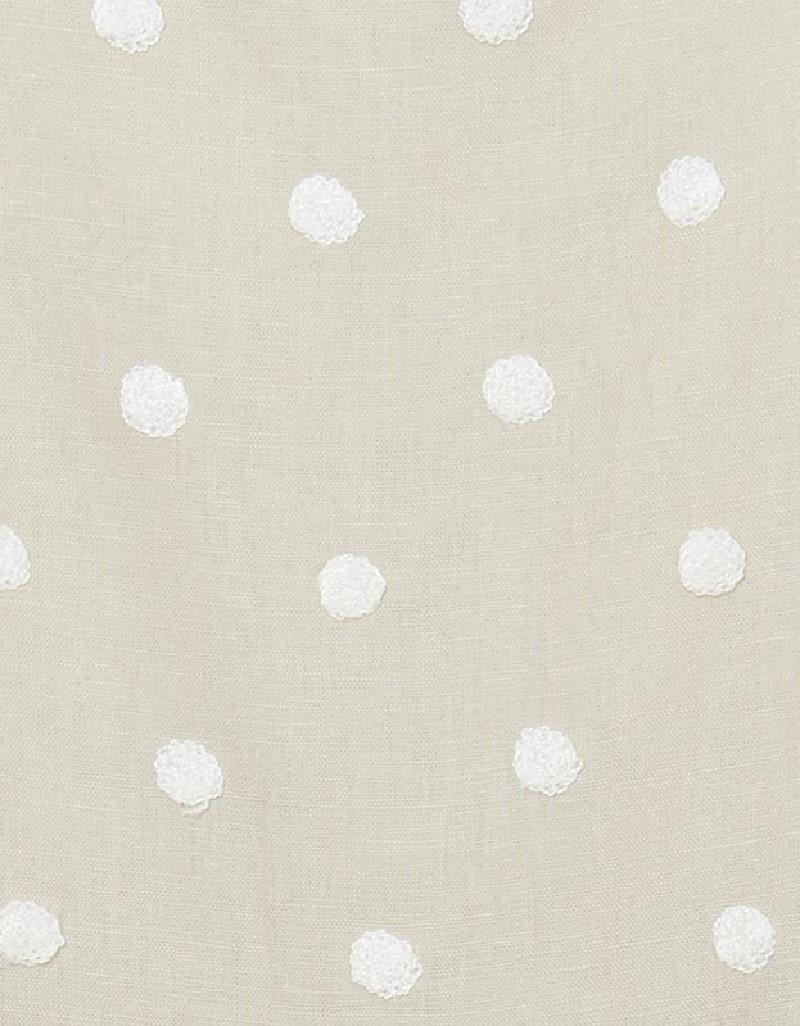 Linen Linen Embroidered Dress