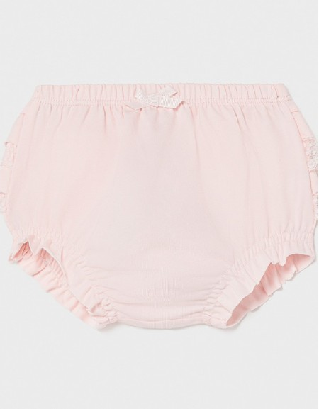 Baby Rose Ruffled Bloomers