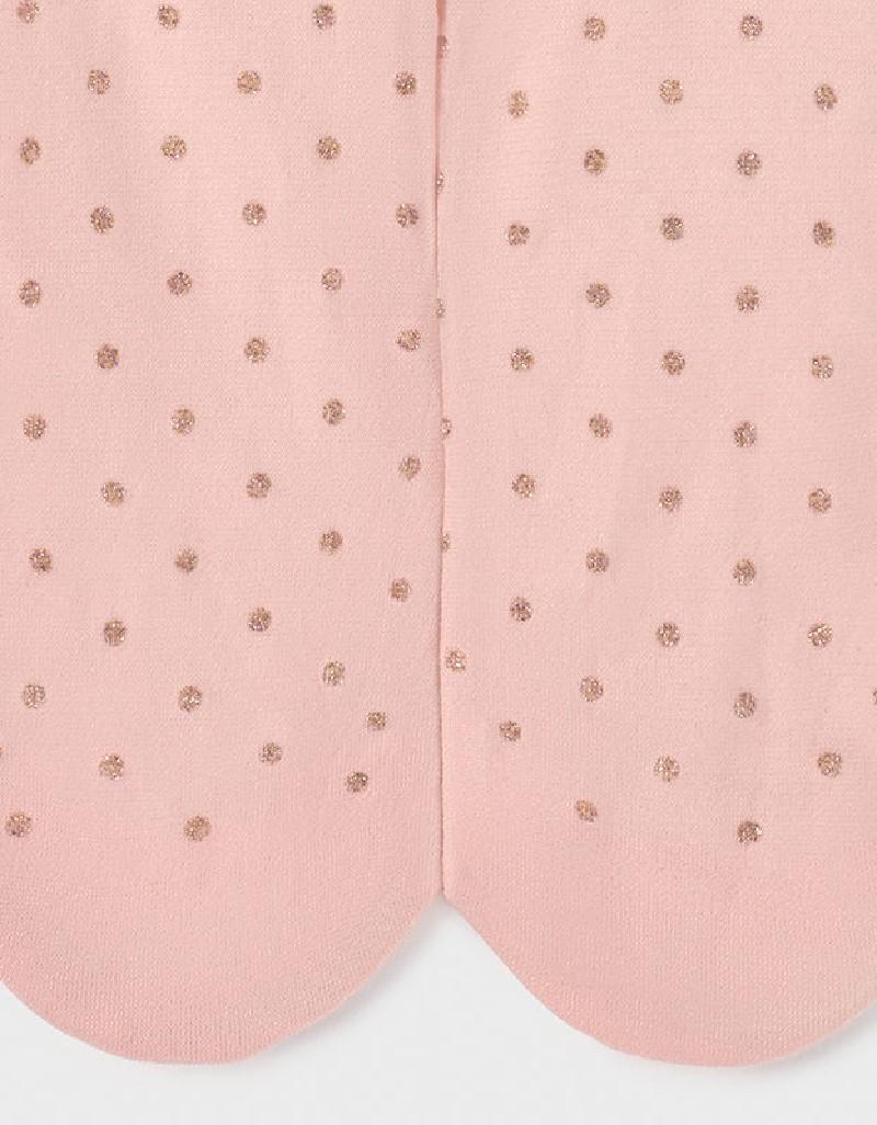 Pale Blush Glittler Dots Panty
