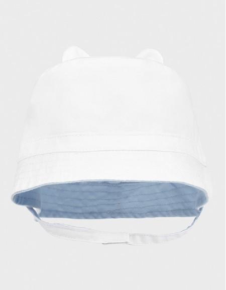 White Hat Newborn Boy