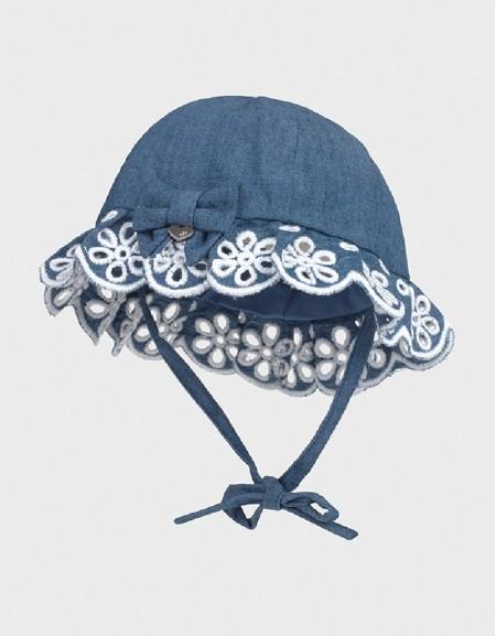 Denim Hat Newborn Girl