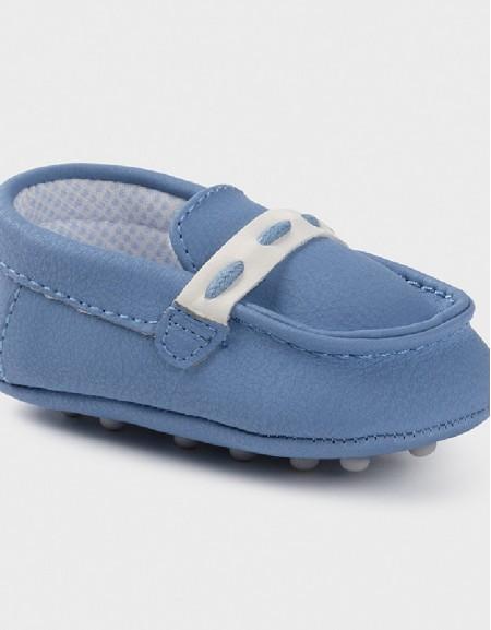 Lightblue Mocasini Bebe Shoe