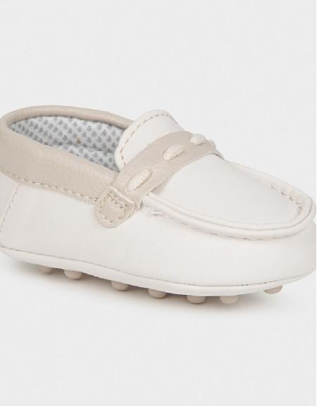 Natural Mocasini Bebe Shoe