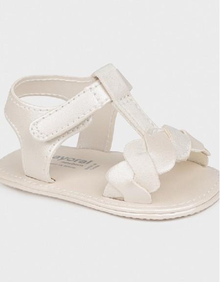 Pearl Newborn Girl Combo Sandals