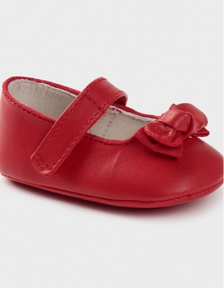 Red Bow Pumps Shoe