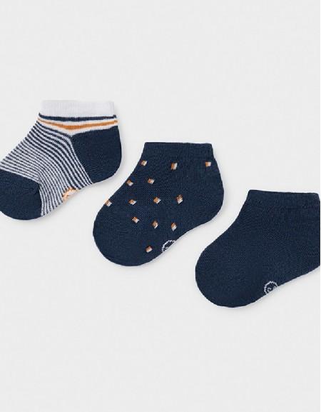 Nautical Set Of 3 Socks
