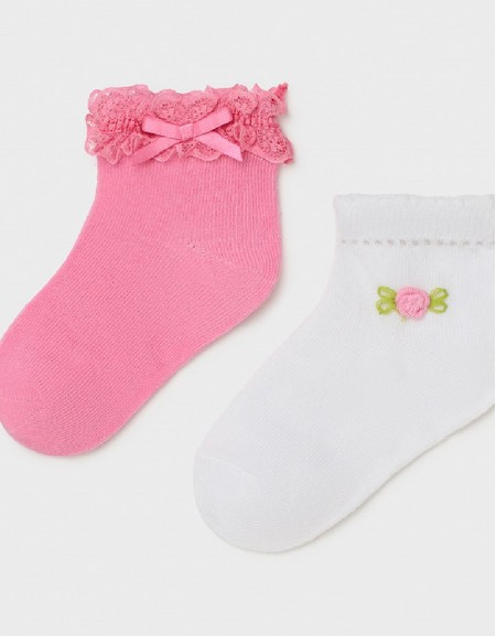Camellia Set Of 2 Socks