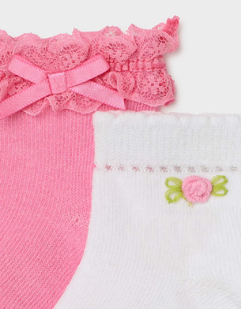 Camellia Set Of 2 Socks