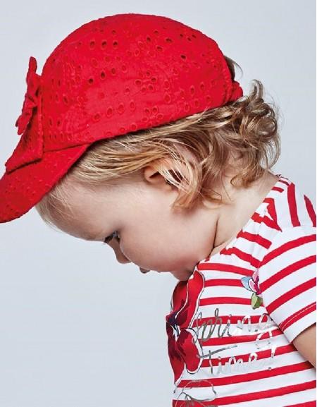 Poppy Perforated Cap