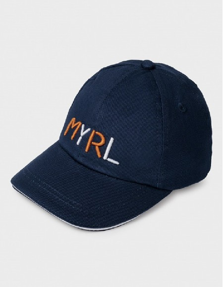Nautical Oxford Embroided Bonnet