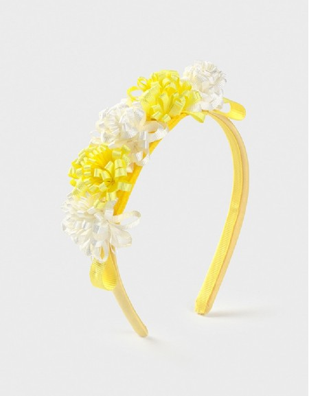 Yellow Flowers Headband