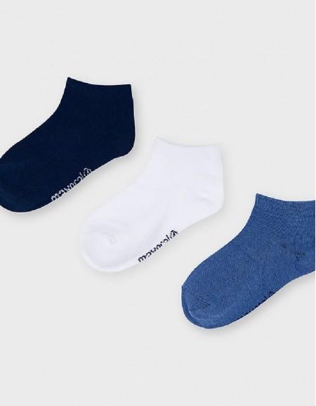 Waves 3-Pc Short Socks Set