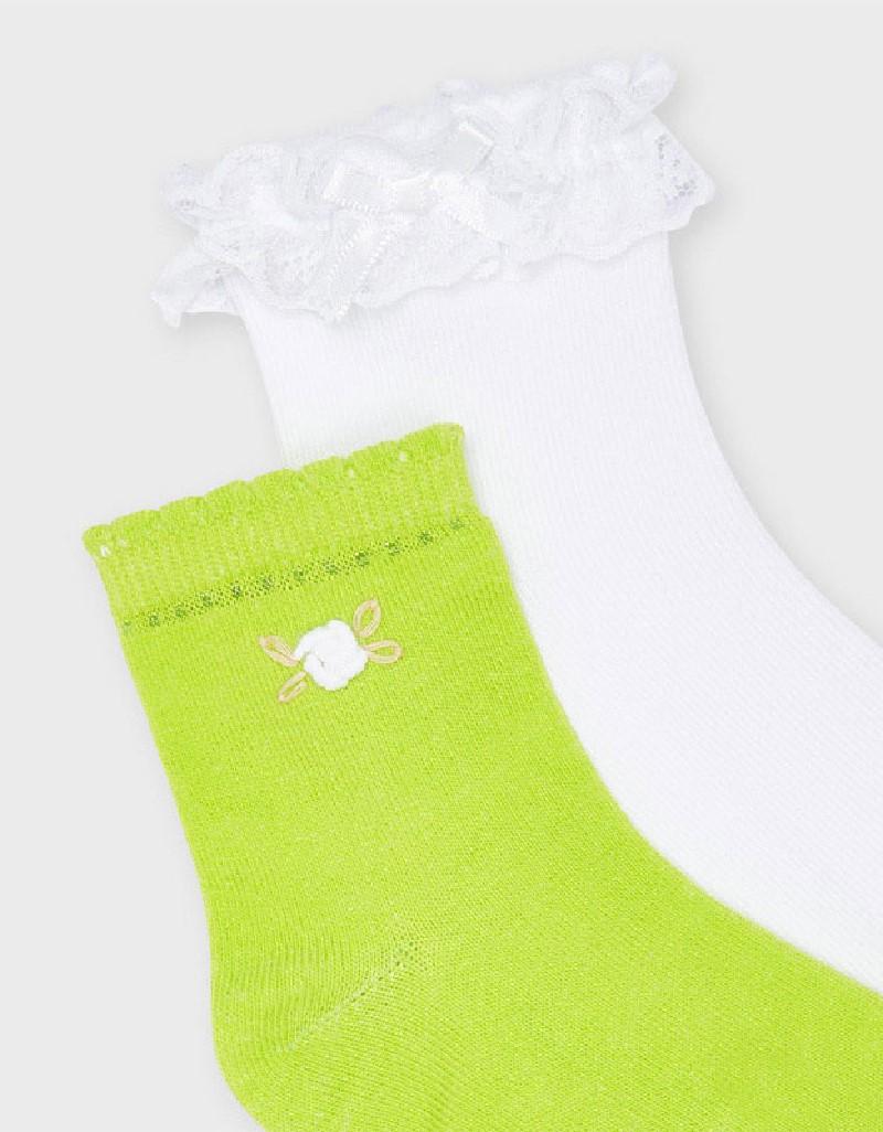 Pistachio Set Of 2 Socks