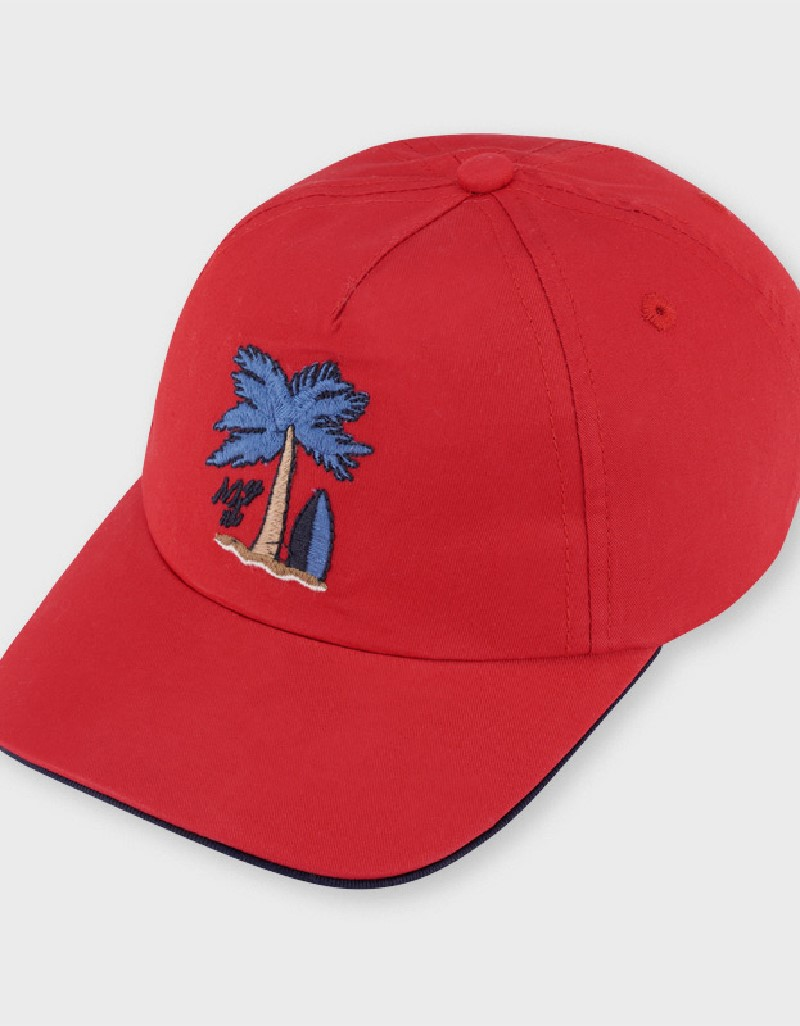Red Palm Cap