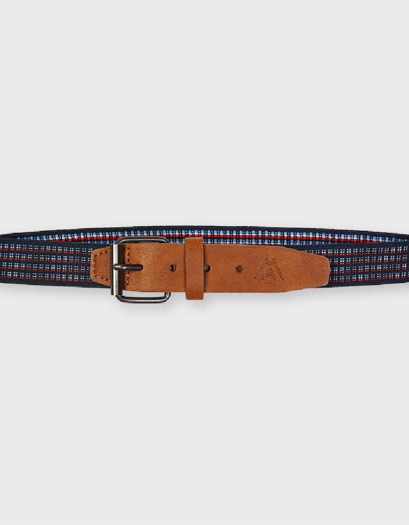 Navy Elastic Belt