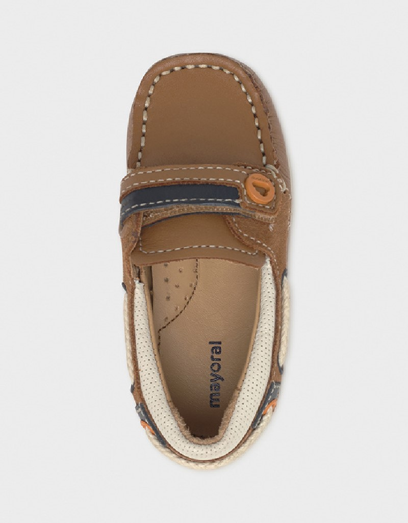 Camel Leather Shoes
