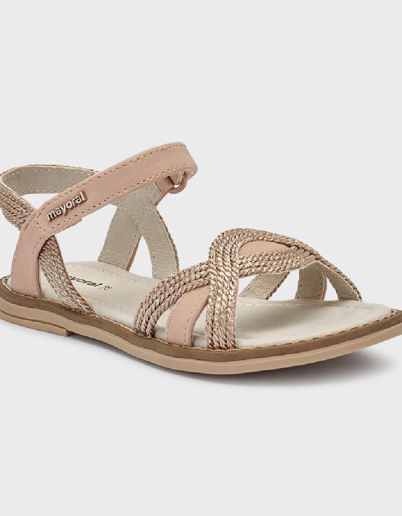 Makeup Braided Sandals