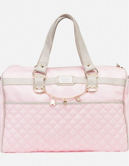Baby Rose Leatherette Changing Bag