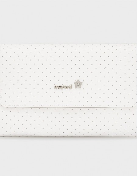 Natural Polka Dotted Changing Pad