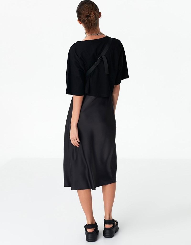 Anthracite Two-Piece Dress