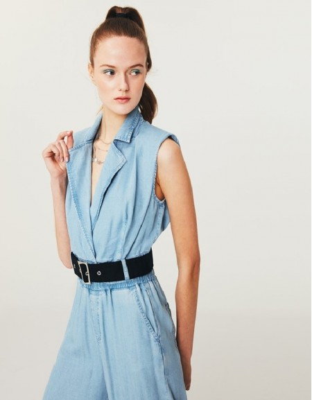 Blue Tencel ™ Vest