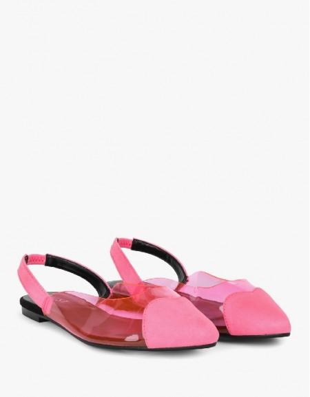 Fuschia Flat Shoes