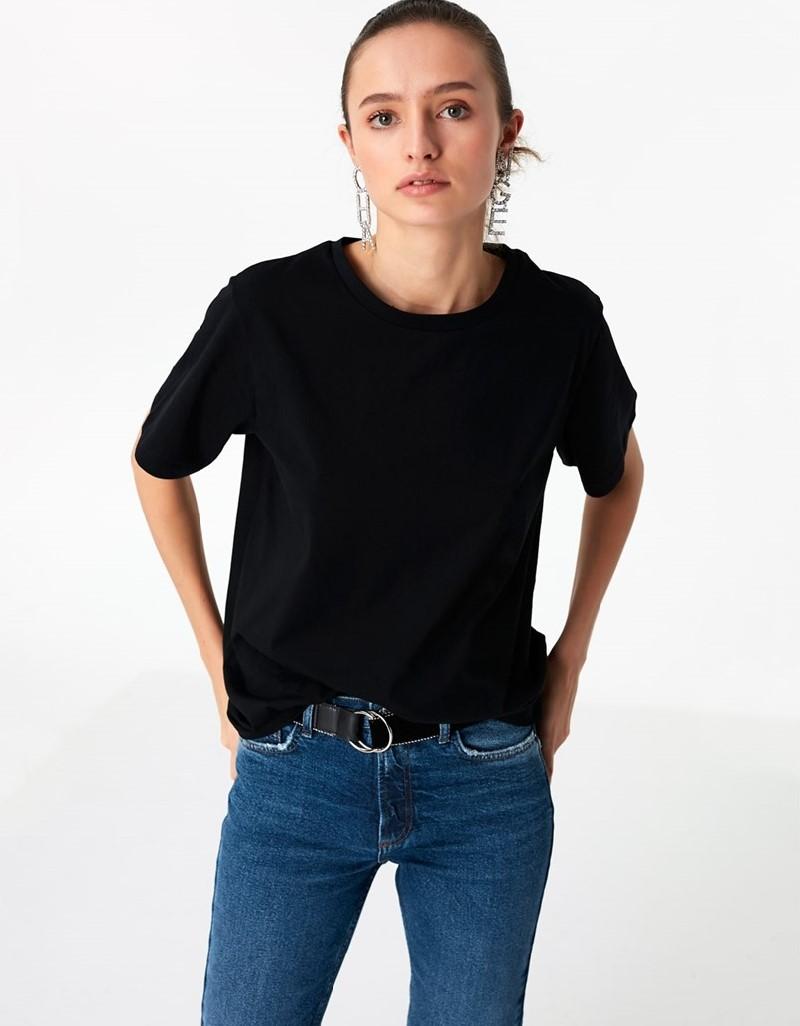Black Basic T-Shirt