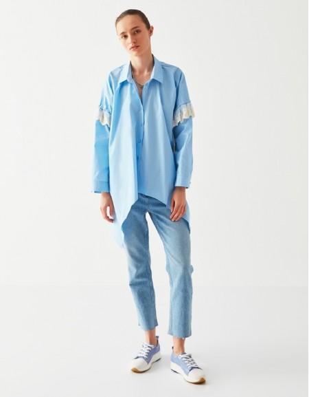 Blue Longsleeve Tunic