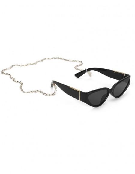Black Chain Accessory Glasses