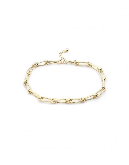 Gold Chain Toggle Anklets