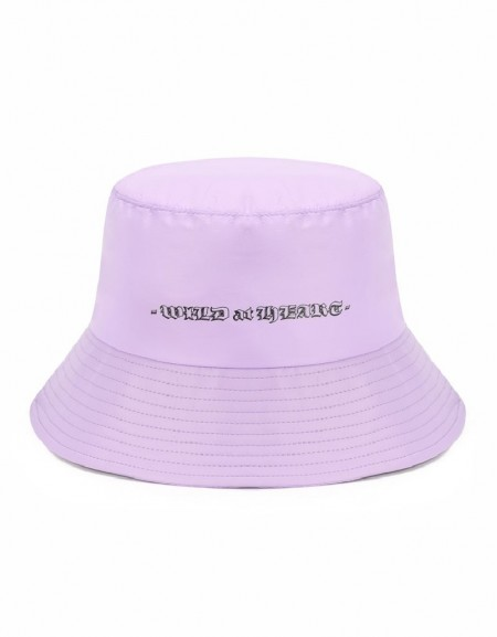 Lilac Hat